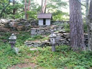 松尾城の本郭
